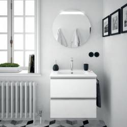 MUEBLE DE BAÑO SUSPENDIDO SPIRIT BLANCO BRILLO DE 60 CM