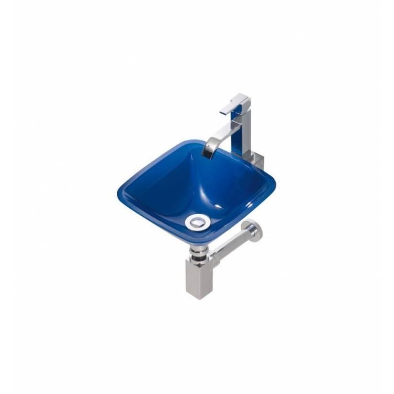 Lavabo de cristal sobre encimera rs 99 00 - Encimera lavabo cristal ...