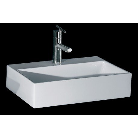Lavabo sobre encimera rectangular 280 00 for Lavabo rectangular