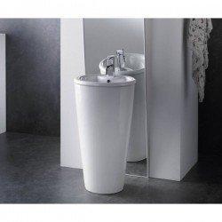 Lavabo de pedestal modelo Roma