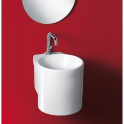 LAVABO DE PORCELANA A PARED TUBE
