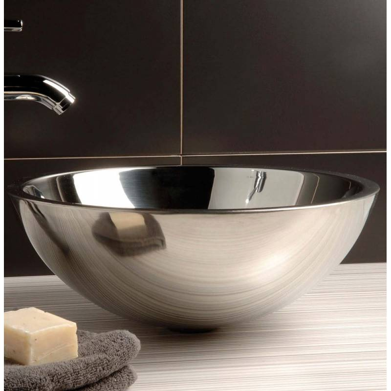 lavabo de acero inoxidable steel 269 00
