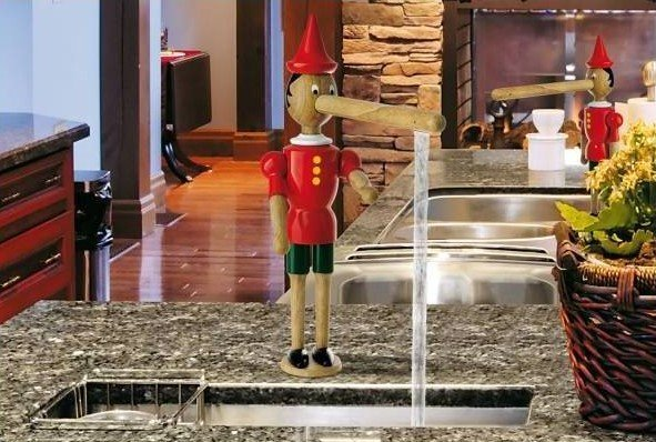 Grifo de lavabo Pinocho